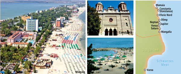 Rumänien Urlaub Reisen  - Schwarzmeerküste