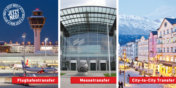 Flughafen, Messetransfer, City to City Transfer München